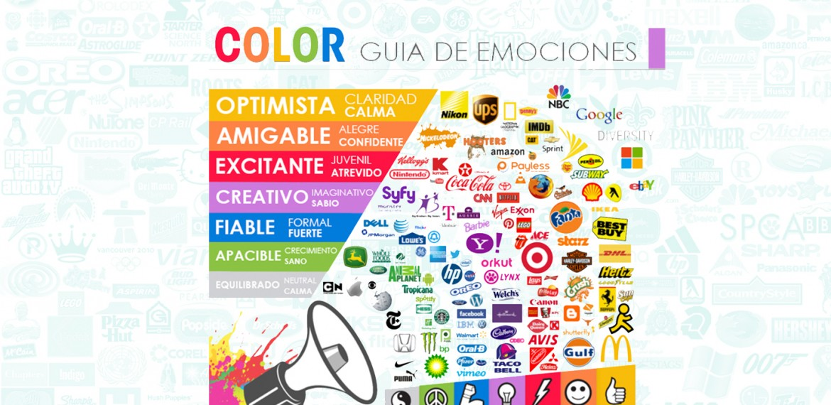 infografia marketing de los colores