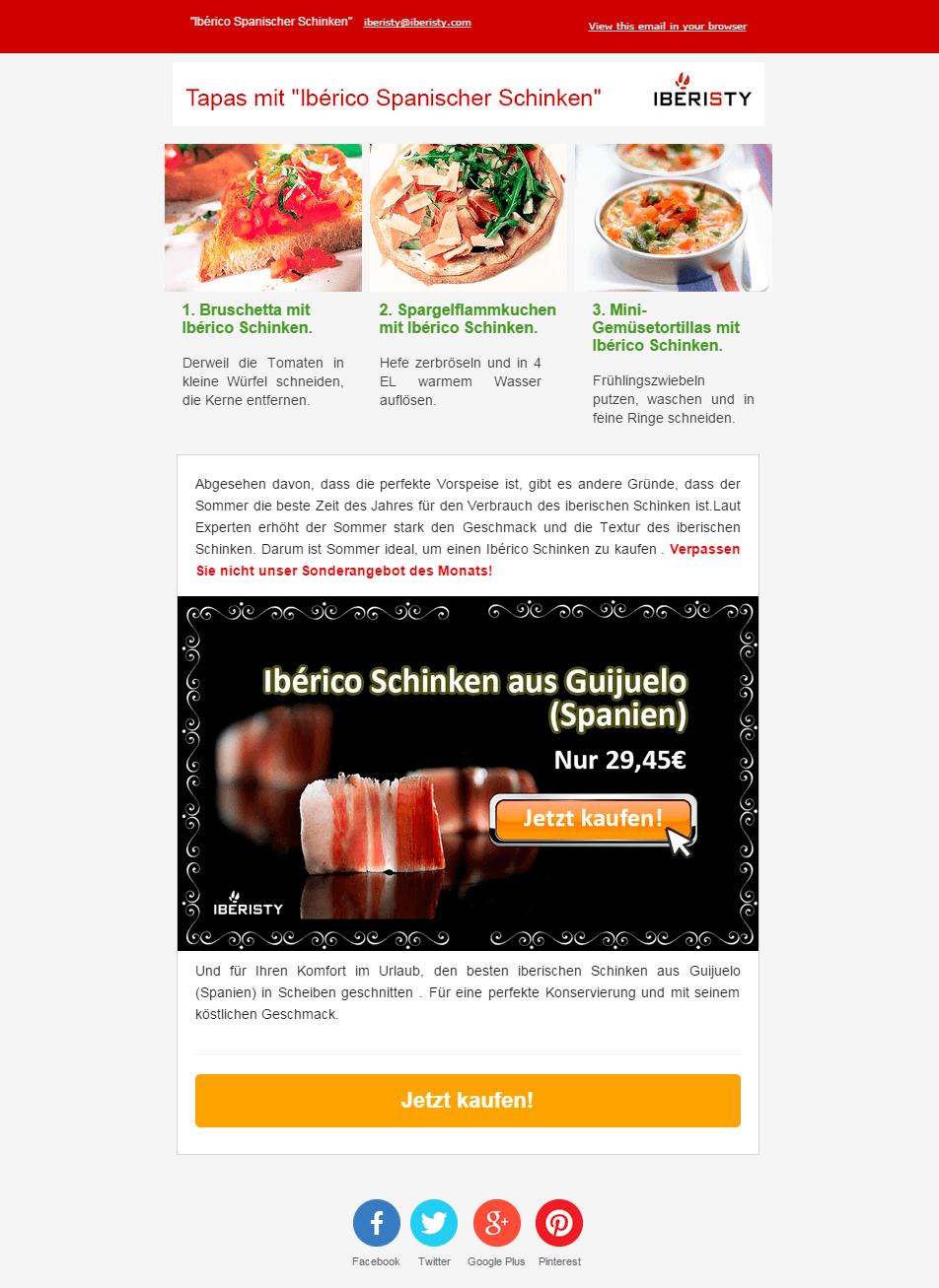 Campaña Email Marketing Málaga