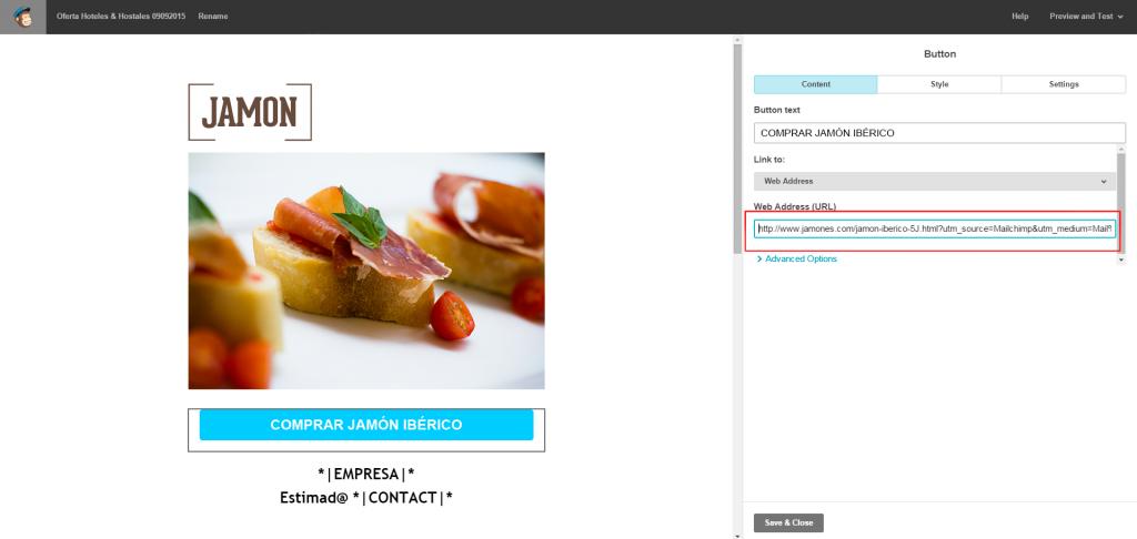 trackear en mailchimp 1024x486 - 5 Pasos para configurar el seguimiento de tus campañas de Mailchimp con Google Analytics.