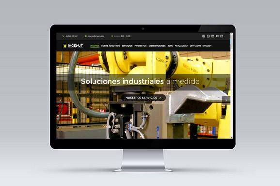 Web Multiidioma INGENUT diseñada y desarrollada por iMeelZ