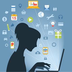 comprador comprando online en una tienda online