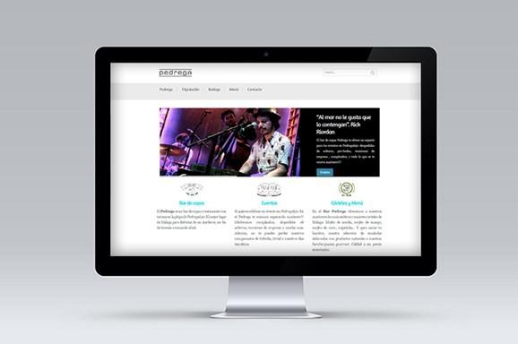 diseño web malaga bar pedregalejo - Trabajos