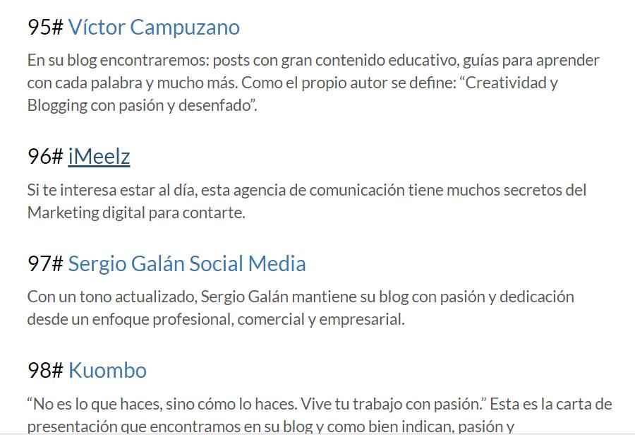 iMeelZ entre los mejores blogs MARKETING DIGITAL según IEBS 900x616 - Agencia