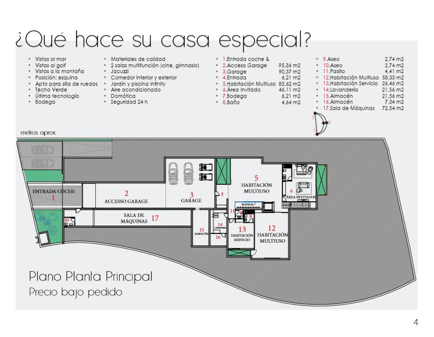 Branding y diseño catálogo Inmobiliaria idioma español iMeeZ