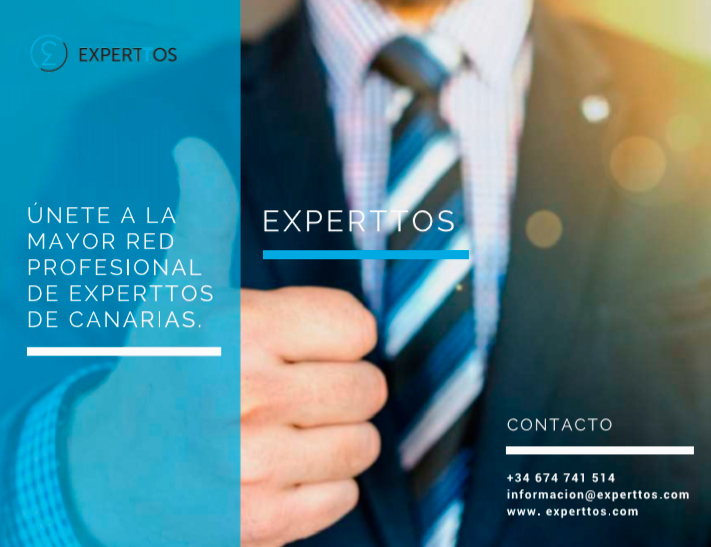 Branding y diseño tríptico Experttos Plataforma online profesional iMeelZ - Trabajos