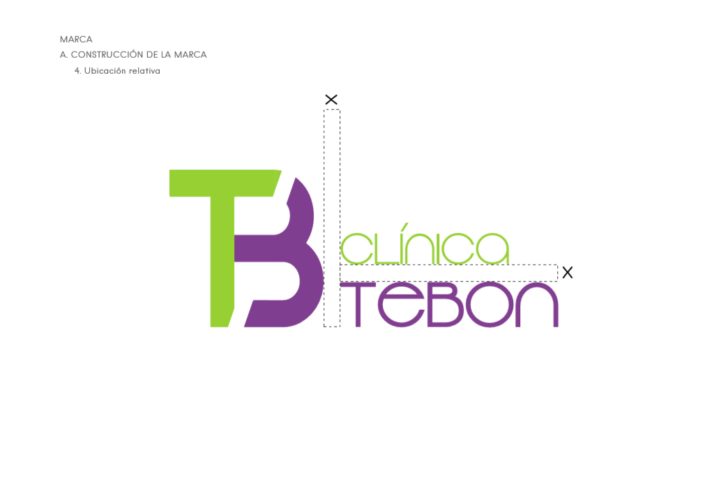 Manual de Identidad Corporativa Clinica Tebon por iMeelZ - Trabajos
