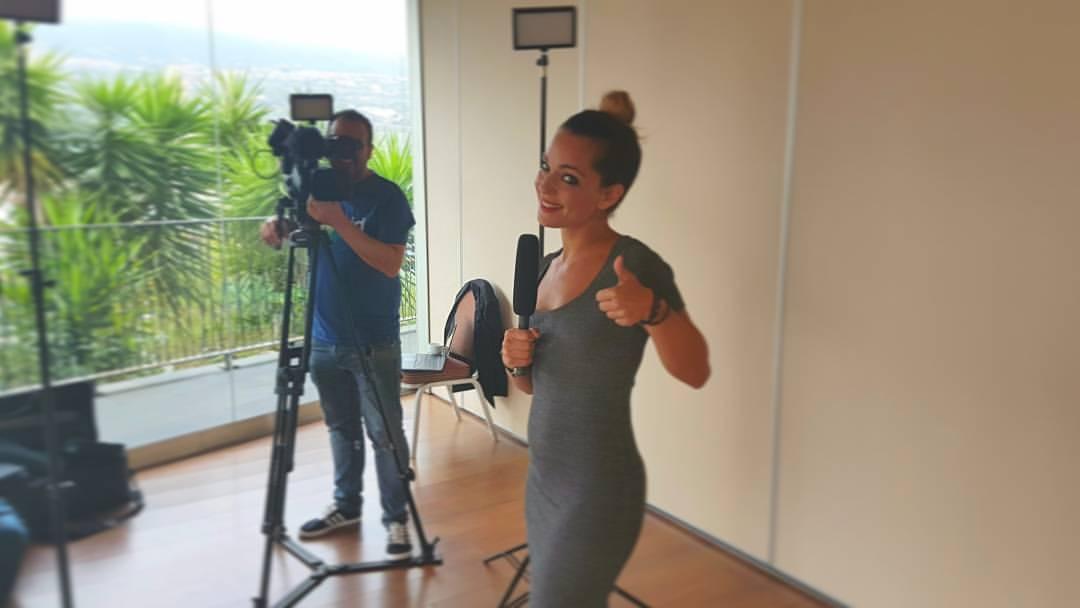 Melania Guijarro Entrevistadora Evento COM SALUD - Trabajos
