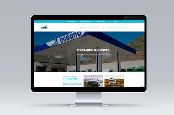 Diseño web Tenerife Océano Combustibles iMeelZ 1 - Trabajos